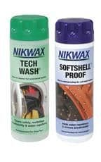 Nikwax tech wash/softshell proof twin pack